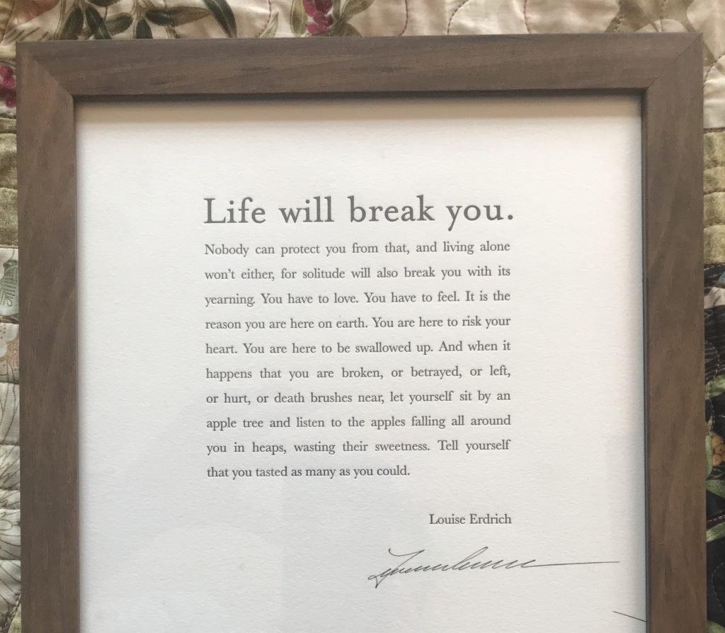 """""""Life Will Break You"""": A Year Since Everything Changed: Everyday Magic, Day 1031"""