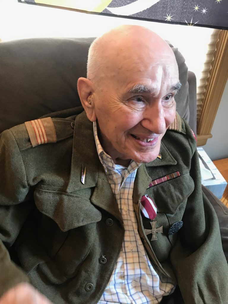 A Medal for Bravery Finally Delivered After 77 Years: Everyday Magic, Day 1042